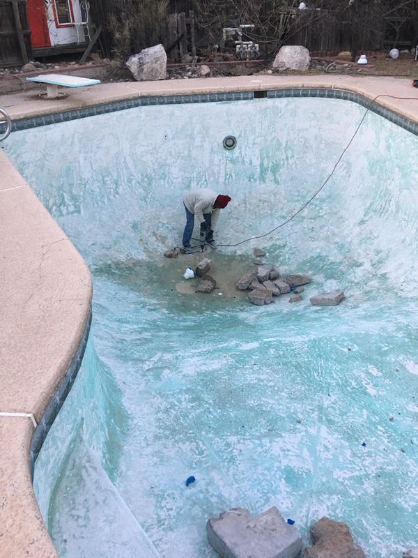 Pool Demolition Process in Tucson